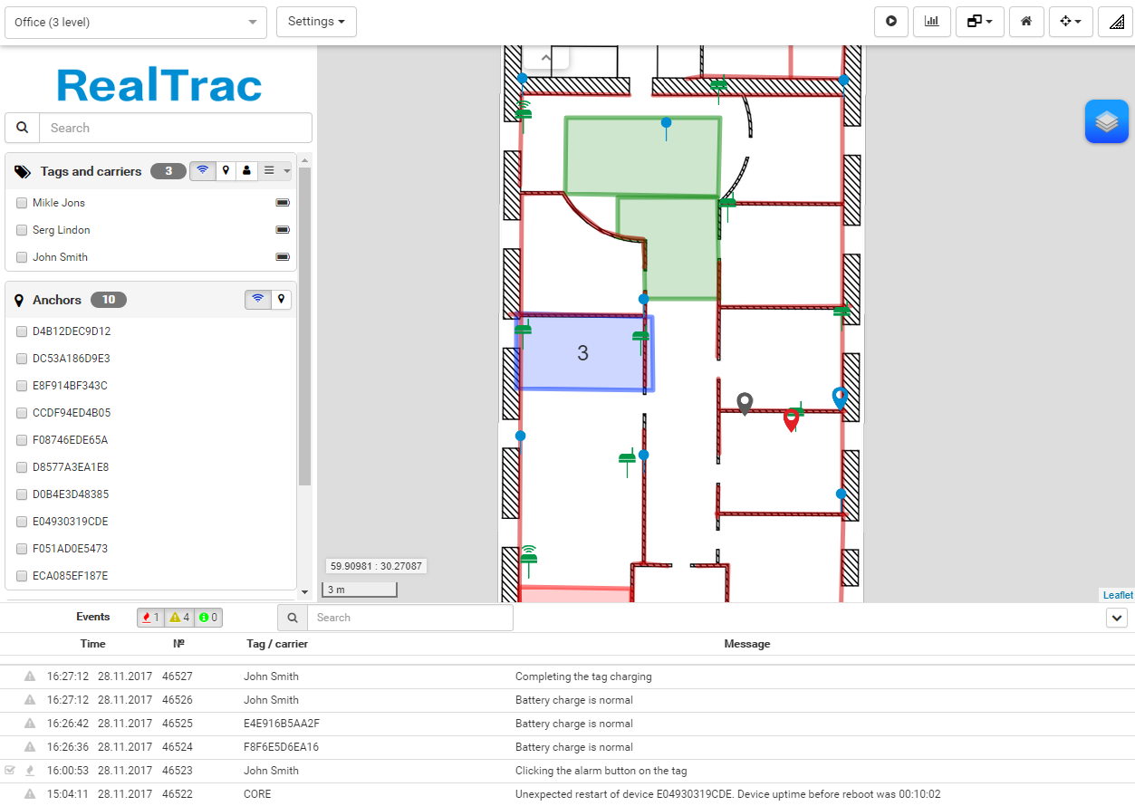 Interface RealTrac 3.1