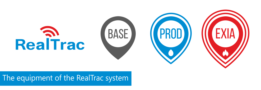 The equipment of the RealTrac system is divided into three product lines